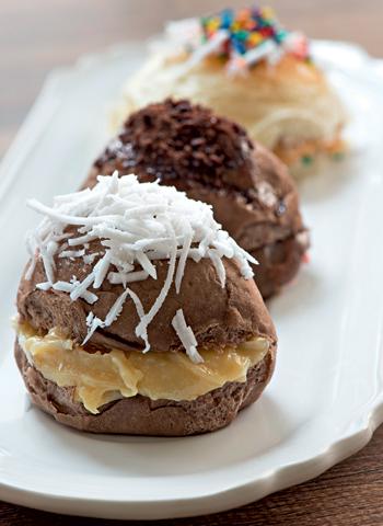 Pão delícia de Ovomaltine