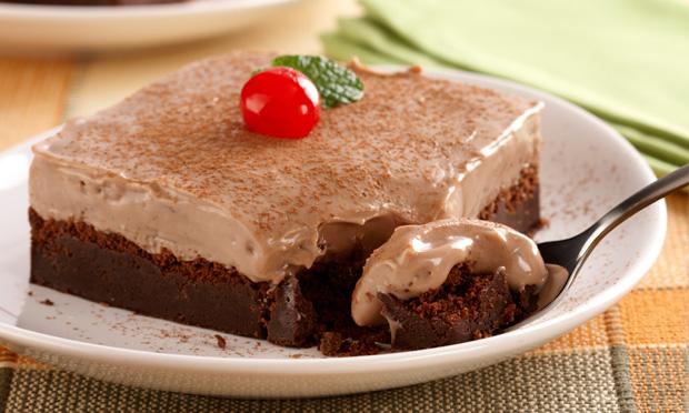 Torta cremosa de Chocolateeeeeeee